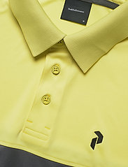 Peak Performance - Player Block Polo Men - kurzärmelig - sunny yellow - 2