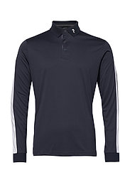 Player Polo LS Men - BLUE SHADOW