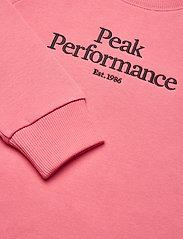 Peak Performance - Jr Original Crew - sweatshirts - alpine flower - 3