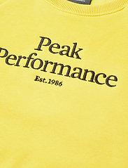 Peak Performance - Jr Original Crew - citrine - 2