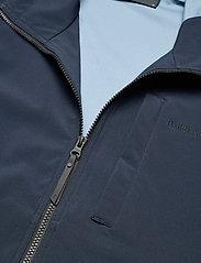 Peak Performance - M Softshell Hood Jacket - ulkoilu- & sadetakit - blue shadow   dark haze - 2