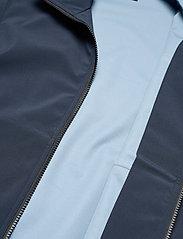 Peak Performance - M Softshell Hood Jacket - ulkoilu- & sadetakit - blue shadow   dark haze - 4
