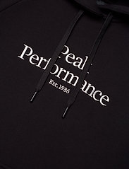 Peak Performance - W Original Hood - hupparit - black - 2