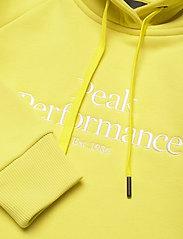 Peak Performance - W Original Hood - hupparit - citrine - 2