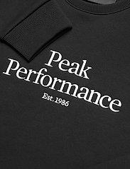 Peak Performance - W Original Crew - svetarit - black - 2
