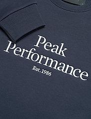 Peak Performance - W Original Crew - svetarit - blue shadow - 2