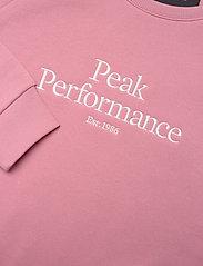 Peak Performance - W Original Crew - svetarit - warm blush - 2