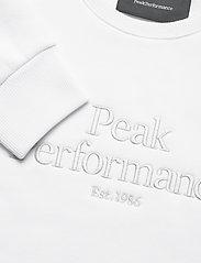 Peak Performance - W Original Crew - svetarit - white - 2