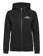 W Original Zip Hood - BLACK