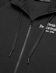 Peak Performance - W Original Zip Hood - hupparit - black - 2