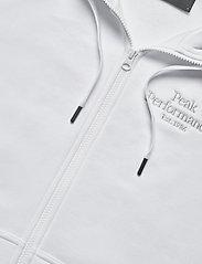 Peak Performance - W Original Zip Hood - hupparit - white - 2