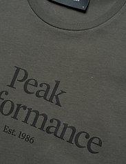 Peak Performance - M Original Tee - black olive - 2