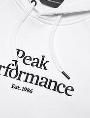 Peak Performance - M Original Hood - hupparit - white - 2