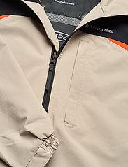 Peak Performance - M Stowaway Anorak - wandel- en regenjassen - celsian beige   black   super nova - 2