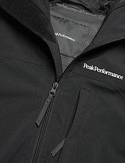 Peak Performance - M Stowaway Anorak - vestes d'extérieur et de pluie - black - 3