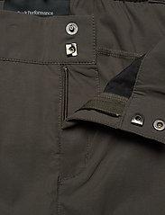 Peak Performance - W Iconiq Pant - ulkohousut - black olive - 3