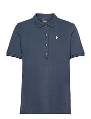 W Classic Polo - BLUE SHADOW