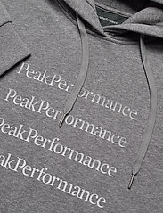 Peak Performance - W Ground Hood Dress - vapaa-ajan mekot - grey melange - 2
