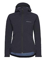 W Adventure Hood Jacket - BLUE SHADOW