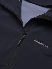Peak Performance - W Adventure Hood Jacket - ulkoilu- & sadetakit - blue shadow - 2