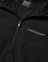 Peak Performance - M Alum Light Jacket - ulkoilu- & sadetakit - black - 3