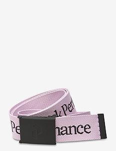 Rider Belt Black - flettede belter - cold blush