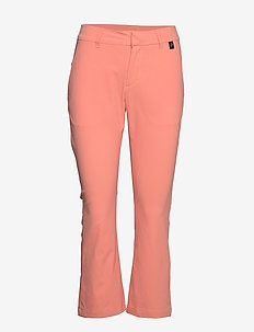 W Illusion Cropped Pants - golf-housut - perched