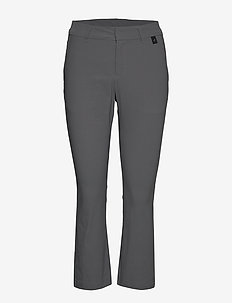 Illusion Cropped Pants Women - spodnie do golfa - deep earth