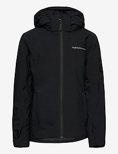 Jr Anima Jacket Blue Elevation - winter jacket - black