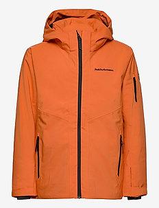 Jr Maroon Jacket Orange Altitude - ski jassen - orange altitude