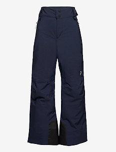 Jr Maroon Pants Fells View - winter trousers - blue shadow