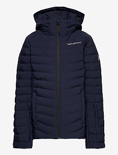 Jr Frost Ski Jacket Cold Blush - veste rembourrée - blue shadow