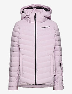 Jr Frost Ski Jacket Cold Blush - veste rembourrée - cold blush