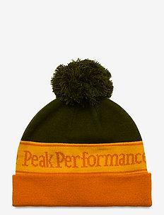 Pow Hat Fells View - hats - orange altitude