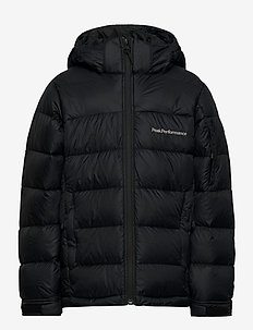 Jr Frost Down Jacket Black - wyściełana kurtka - black