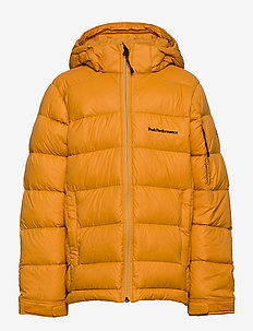 Jr Frost Down Jacket Black - puffer & padded - blaze tundra