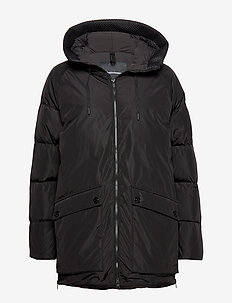 STELLA J - down jackets - black