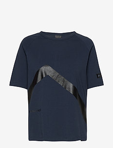 W Tech Tee - logo t-shirts - blue shadow