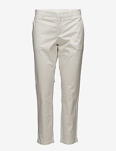 ADELSUMCH - golf pants - laundry white