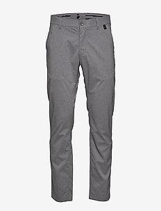 M Maxwell Melange Pants - golfbukser - grey melange
