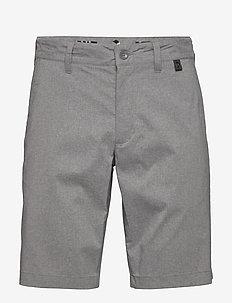 M Maxwell Melange Shorts - tailored shorts - grey melange