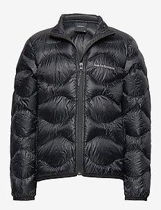 JR HELIU J - wyściełana kurtka - black