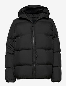 W Rivel Puffer Black - down jackets - black