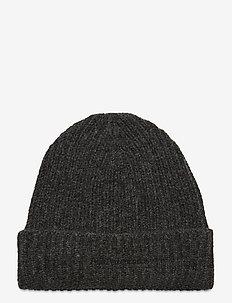 Mys Hat Black - bonnet - dk grey mel