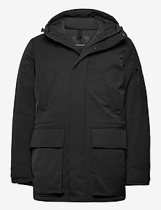M Ground Parka Black - parki - black