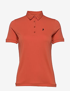 Alta Polo Women - polo''s - clay red