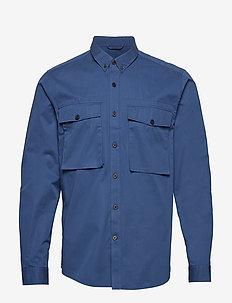 DEAN MILIS - chemises en jean - decent blue