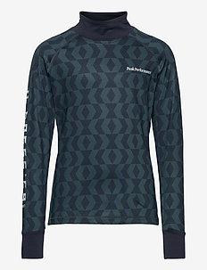Junior Spirit Print Crew Pattern - langermede t-skjorter - pattern