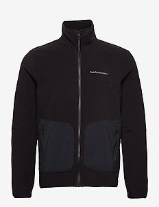 M Tech Soft Zip Fells View - basic sweatshirts - black