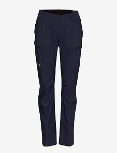 W Iconiq Cargo Pants - friluftsbyxor - blue shadow